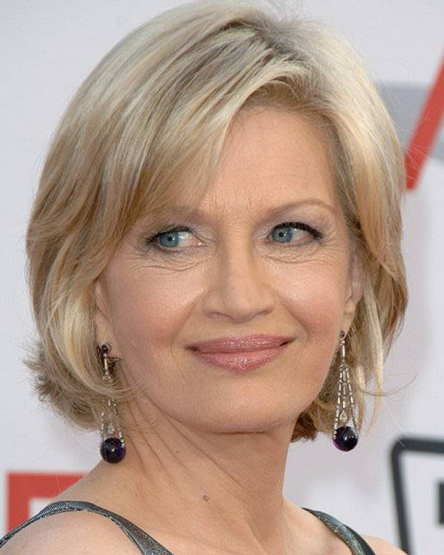 Short Hairstyles For Older Women Images Ageing Gracefully Iii
