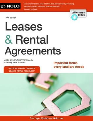 Leases  Rental Agreements NEW Nonfiction, Just In! Pinterest