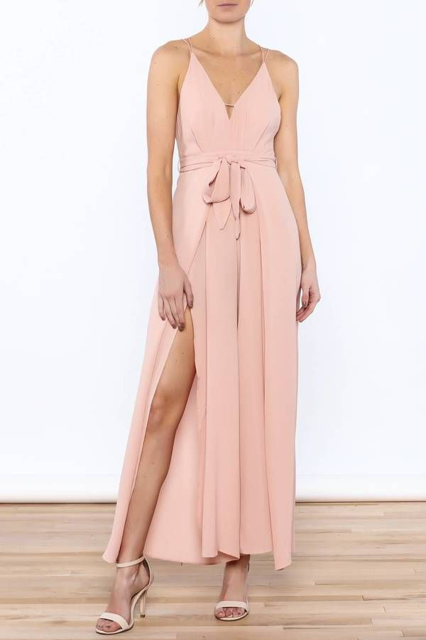 luxxel Blush Sleeveless Jumpsuit | Jumpsuits, Playsuits & Dungarees ...