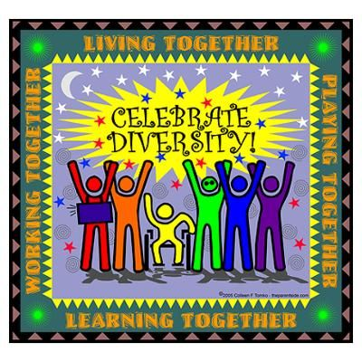 unity in diversity posters 2015-04-03 these free printable coloring pages for kids cover many aspects of cultural diversity, and serve several purposes: a) they educate kids about different cultures around the world b) they promote a greater understanding and.