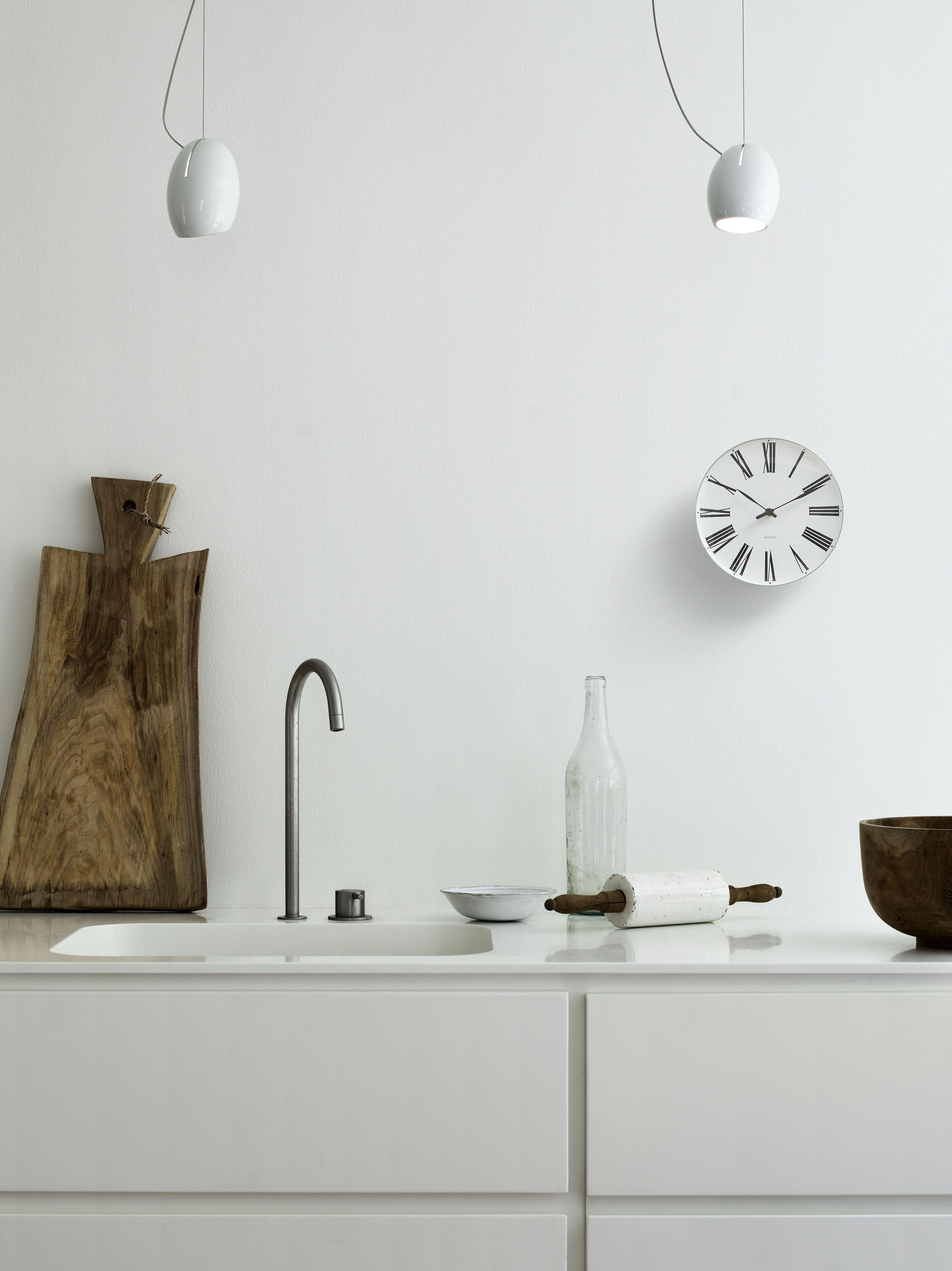 Arne jacobsen interior arne jacobsen wall clock  scandinavian living  pinterest  arne