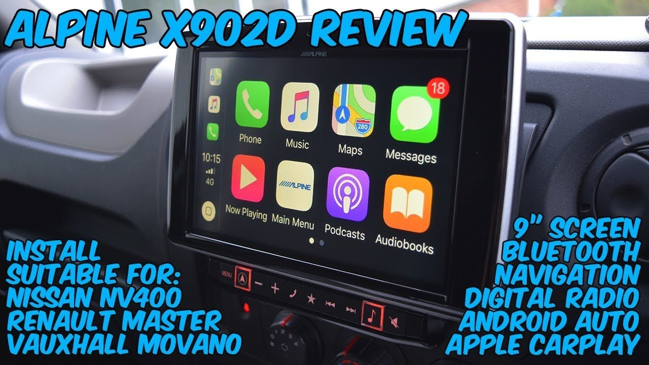 Alpine X902D Freestyle Review - Custom Navigation Install in Nissan