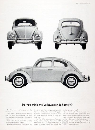 1961 volkswagen beetle original vintage ad the vw defies rh pinterest com