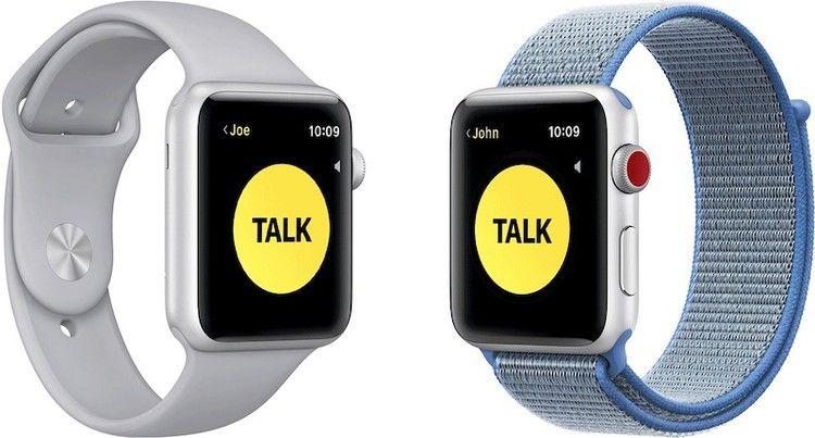 WalkieTalkie Apple Watch App Works Again Following iOS 12