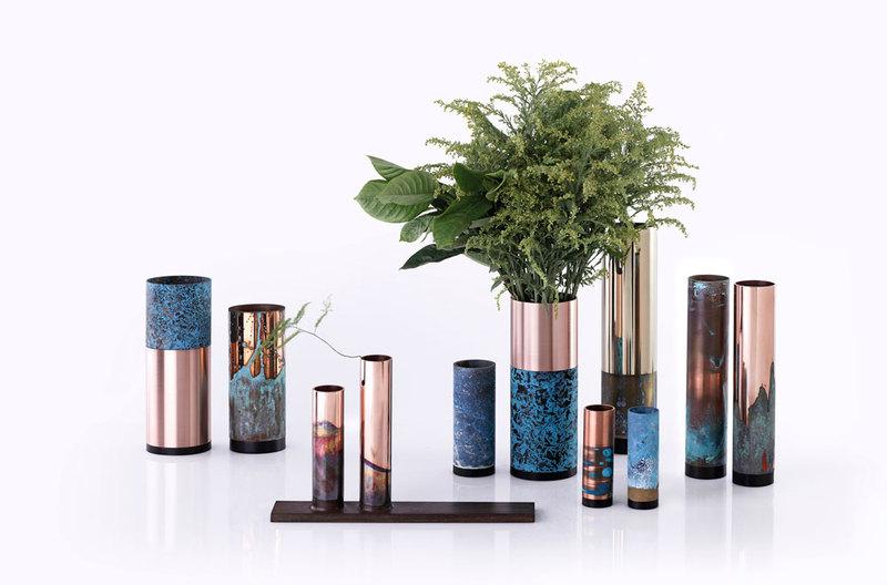 时节花器 / Vases Mánmán Design in 2020 Copper wood