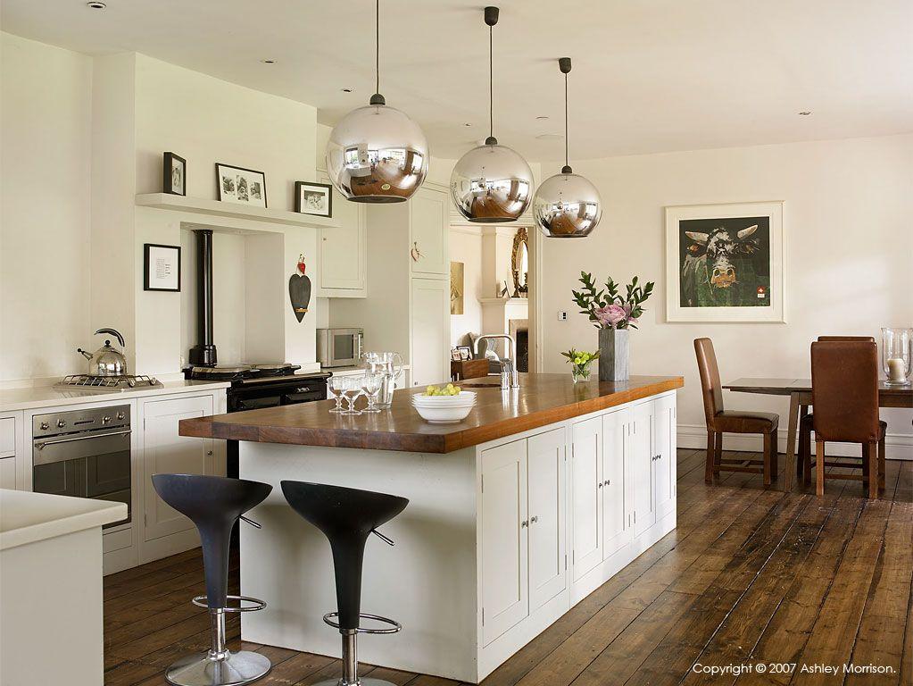 Plain English kitchen in Coral & Rob Garlick's Edwardian