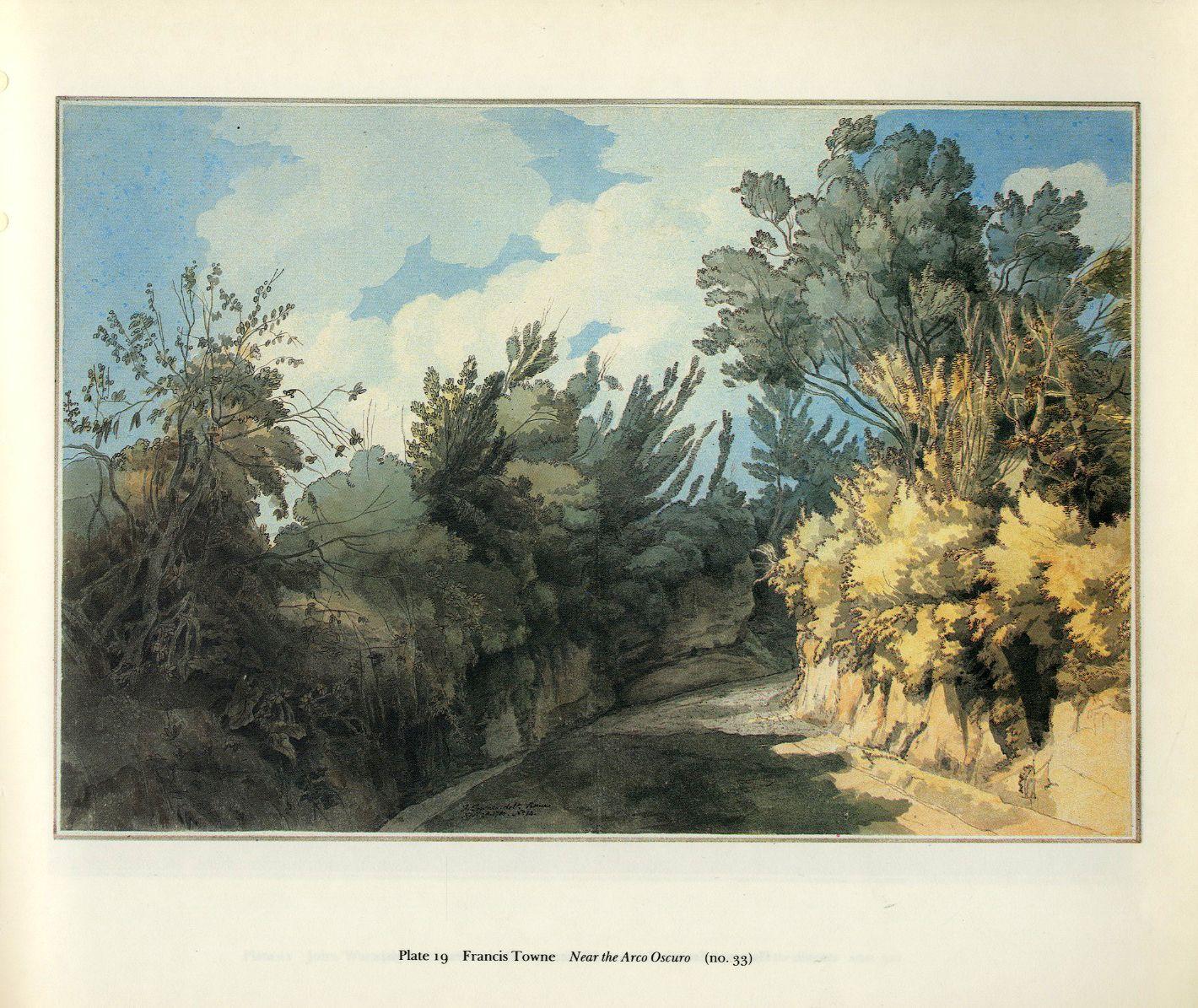Francis towne british 17391816 watercolor