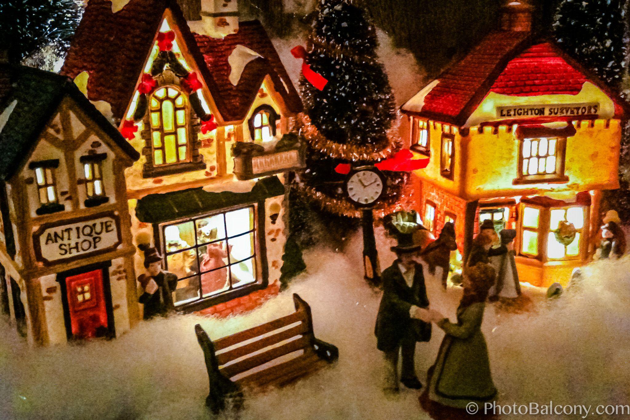 Mini Christmas Village Display.Christmas Village Ideas Christmas Village Mini