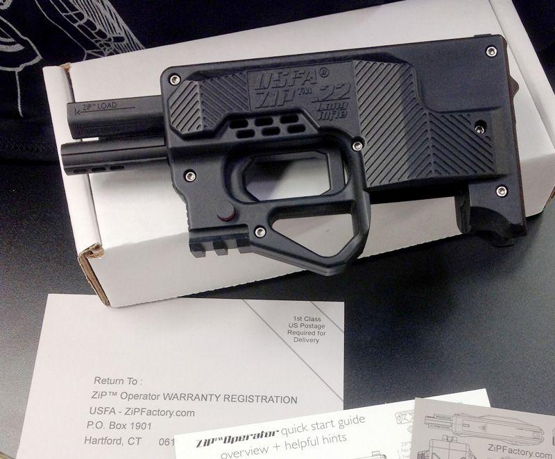 Usfa Zip 22 Lr Composite Gun That Accepts 1022 Magazines