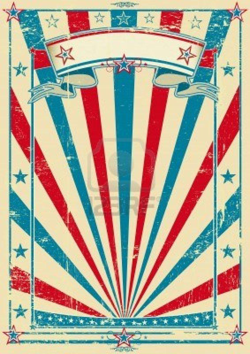 invitación cartel circo vintage