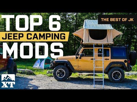 The Best Jeep Wrangler Camping Mods And Outdoor Gear For Off Road Adventures Youtube Jeep Wrangler Camping Best Jeep Wrangler Outdoor Camping Gear