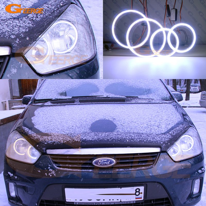 Cheap Led Angel Buy Quality Led Angel Eyes Directly From China Cob Led Suppliers For Ford C Max Mki 2008 2009 2010 Halog Led Angel Eyes Angel Eyes Ford Focus