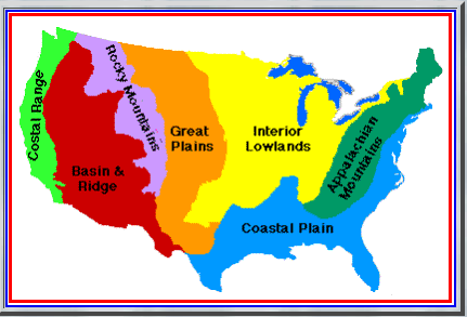 american regions | Maps | Social studies, United states, 5th grade ...