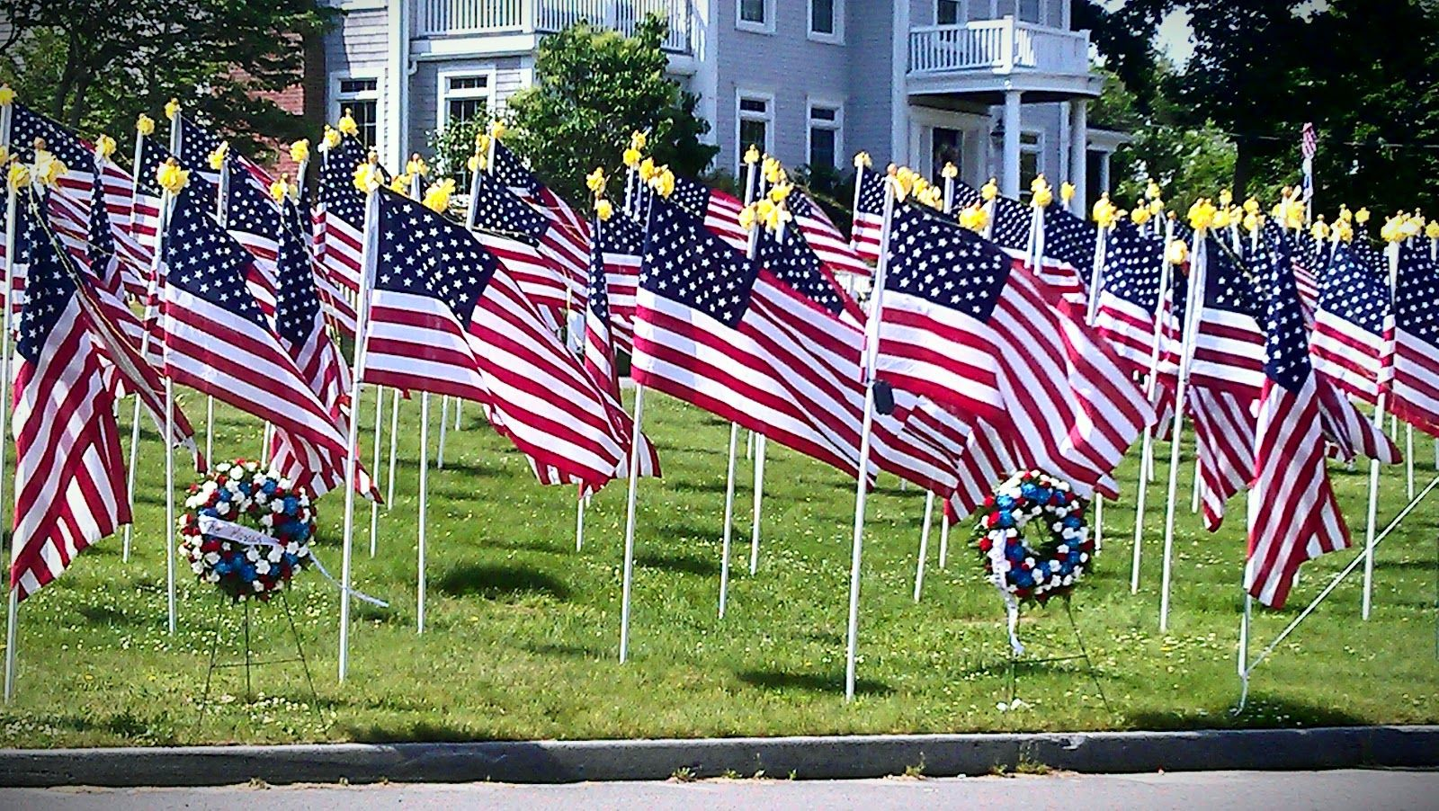 Field Of Honor Finding Silver Pennies Trip Planning America Honor