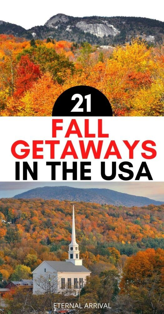 21 Best Places to See Fall Colors in the USA - Ete
