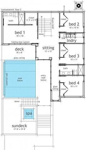 Casa planta alta piscina proyectos que intentar casas for Medidas de una piscina para una casa