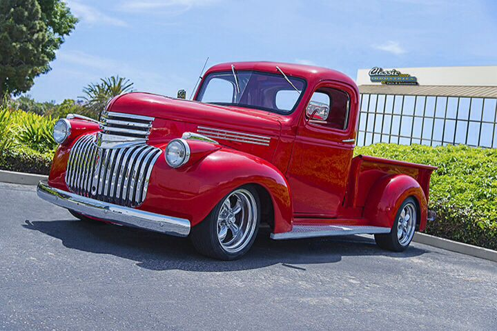 1946 Chevy truck photo by Steve Harer