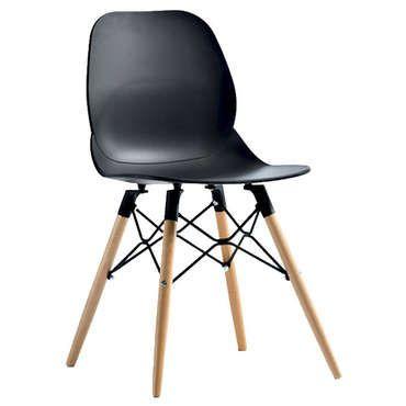 Chaise OSLO coloris noir - pas cher ? Cu0027est sur Conforamafr - large - conforama salle a manger