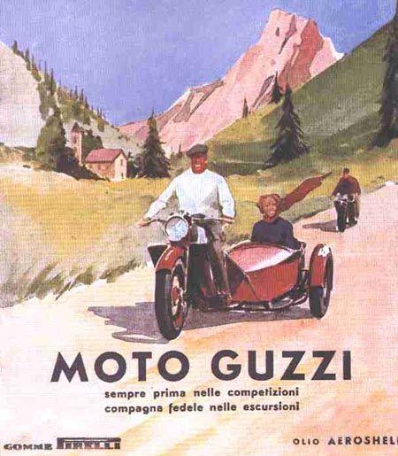 Moto Guzzi California Poster
