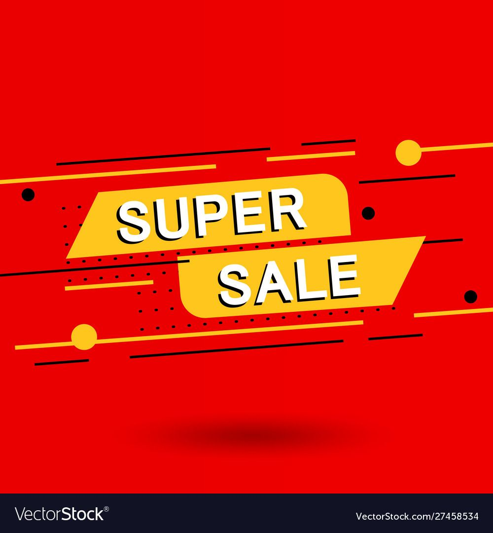 Sale banner discounts and Royalty Free Vector Image