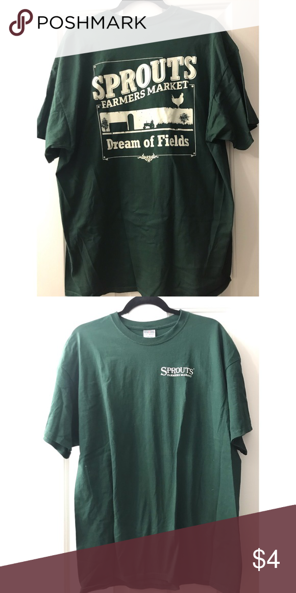 Sprouts Farmers Market Tee Sprouts T Shirt Shirts Tees Short Sleeve Farmers Market Tee Mens Tops Fashion