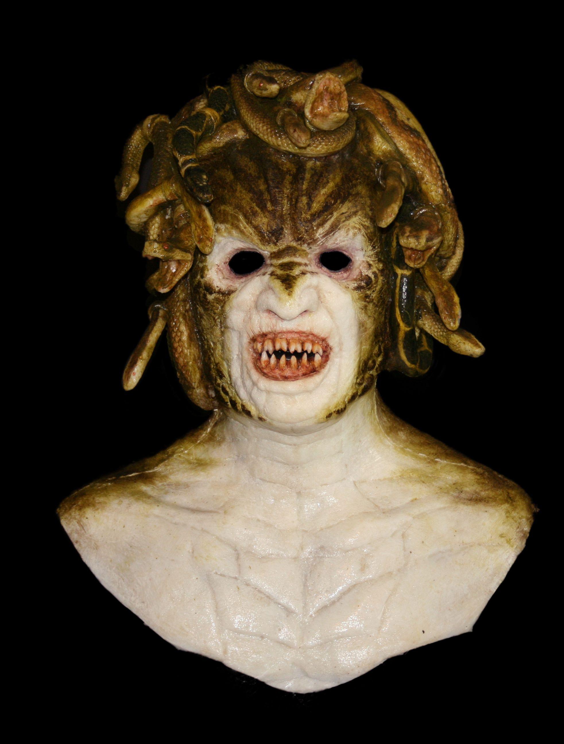 Medusa silicone mask | Medusa | Pinterest | Silicone masks ...