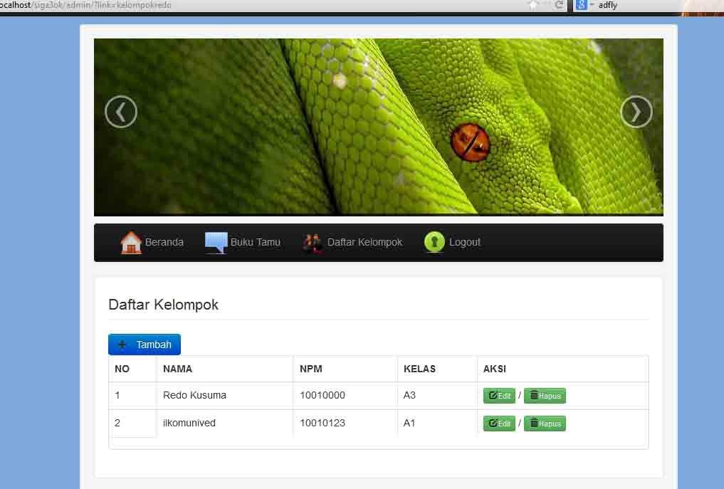 Download Source Code Crud Sederhana Menggunakan Php Mysql Php Sederhana Aplikasi