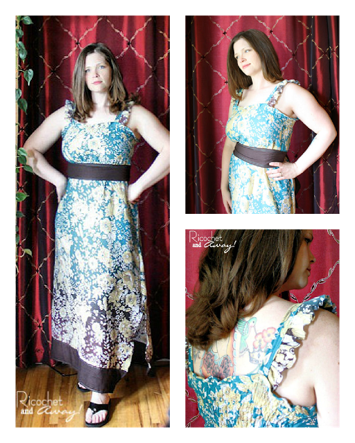 Sew a shirred maxi dress