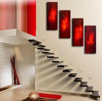 decoracion escaleras minimalistas Escaleras Pinterest