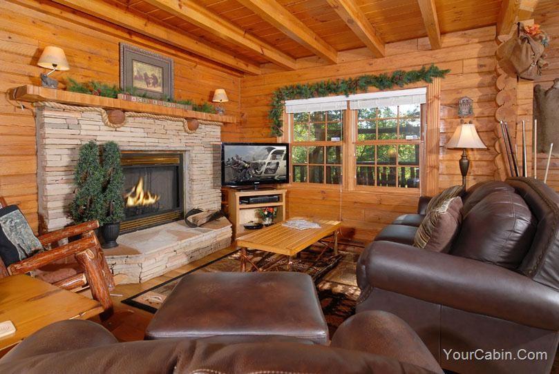 Black Bearry Hill 3 Bedroom Cabin Rental Cabin Rentals Luxury Cabin Log Home Living