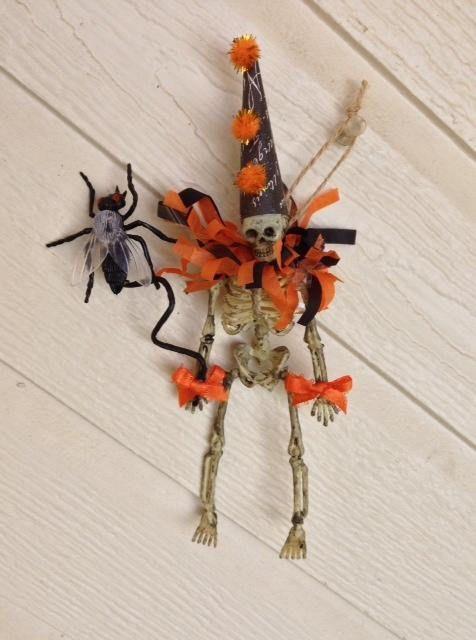 Halloween Decoration Cute Skeleton Trick or Treater Walking - halloween cute decorations
