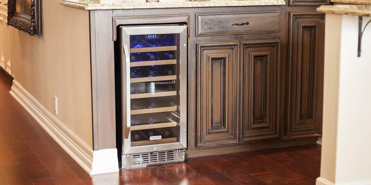 15 Inch Built In Wine Cooler