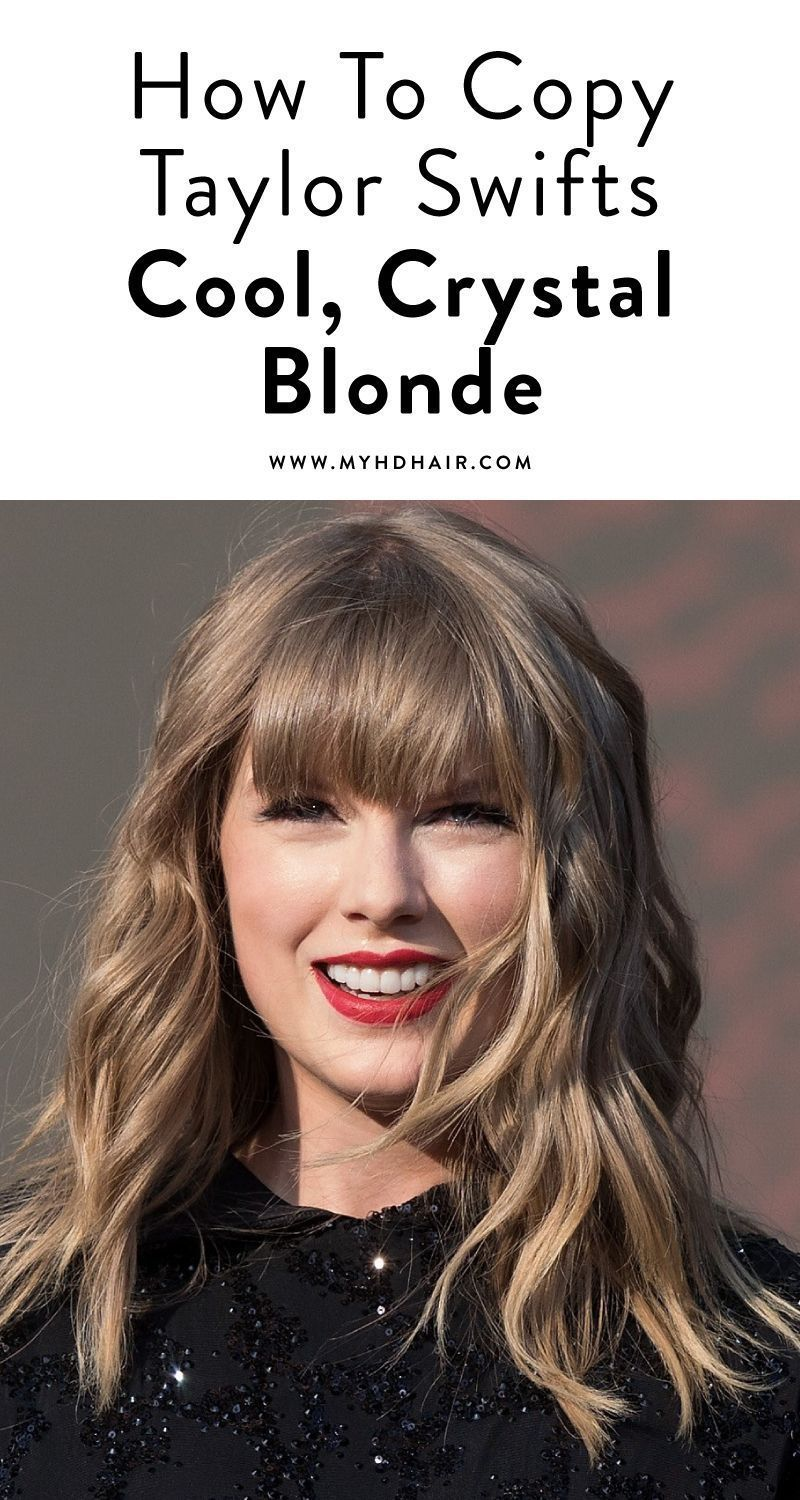 How To Copy Taylor Swifts Cool Crystal Blonde Taylor Swift Hair Color Taylor Swift Haircut Taylor Swift Hair