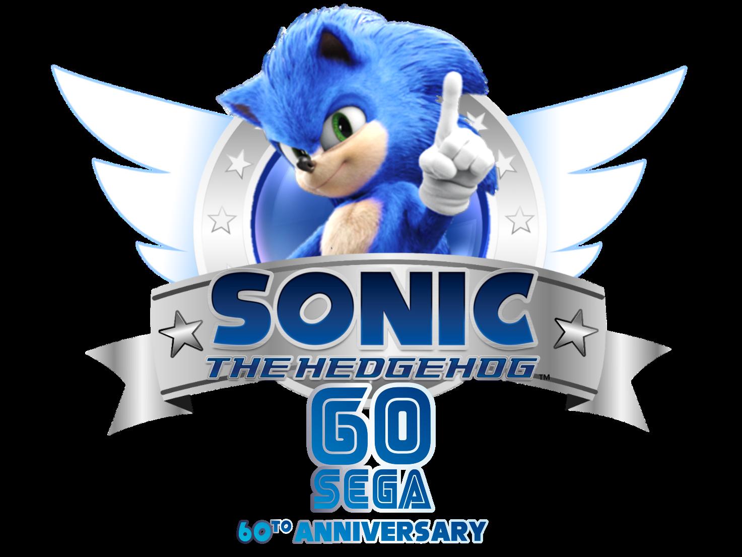 Sega Sonic 60to Anniversary Sonic Sonic The Movie Sonic The Hedgehog