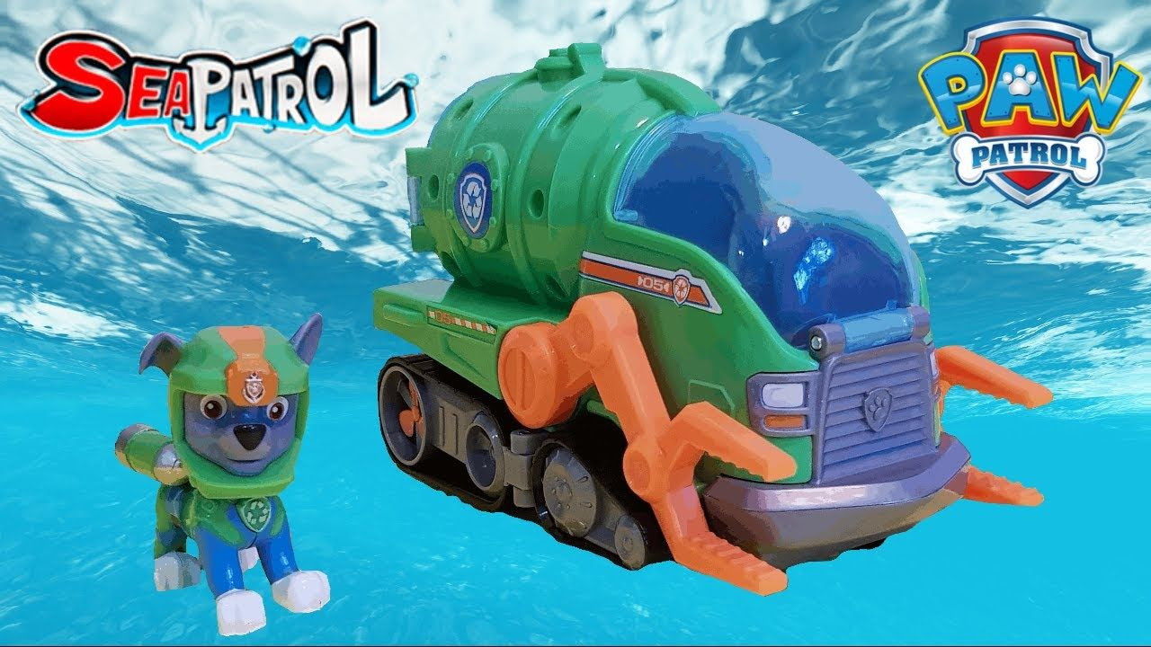 Paw Patrol Sea Patrol Rocky's Transforming Vehicle | Fun ...