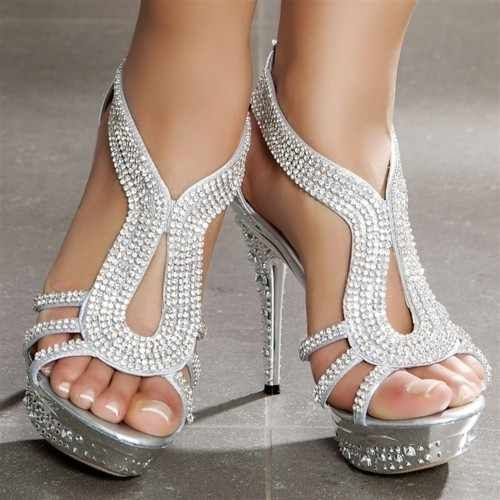 """Silver Heels"" Awesome post by @fashion_pick #fashion"