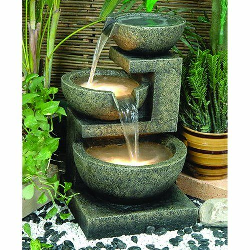 Polished Bowl Fountain From Stone Forest Kata Natural Water Oracle Fountains Rocca Alfresco Home