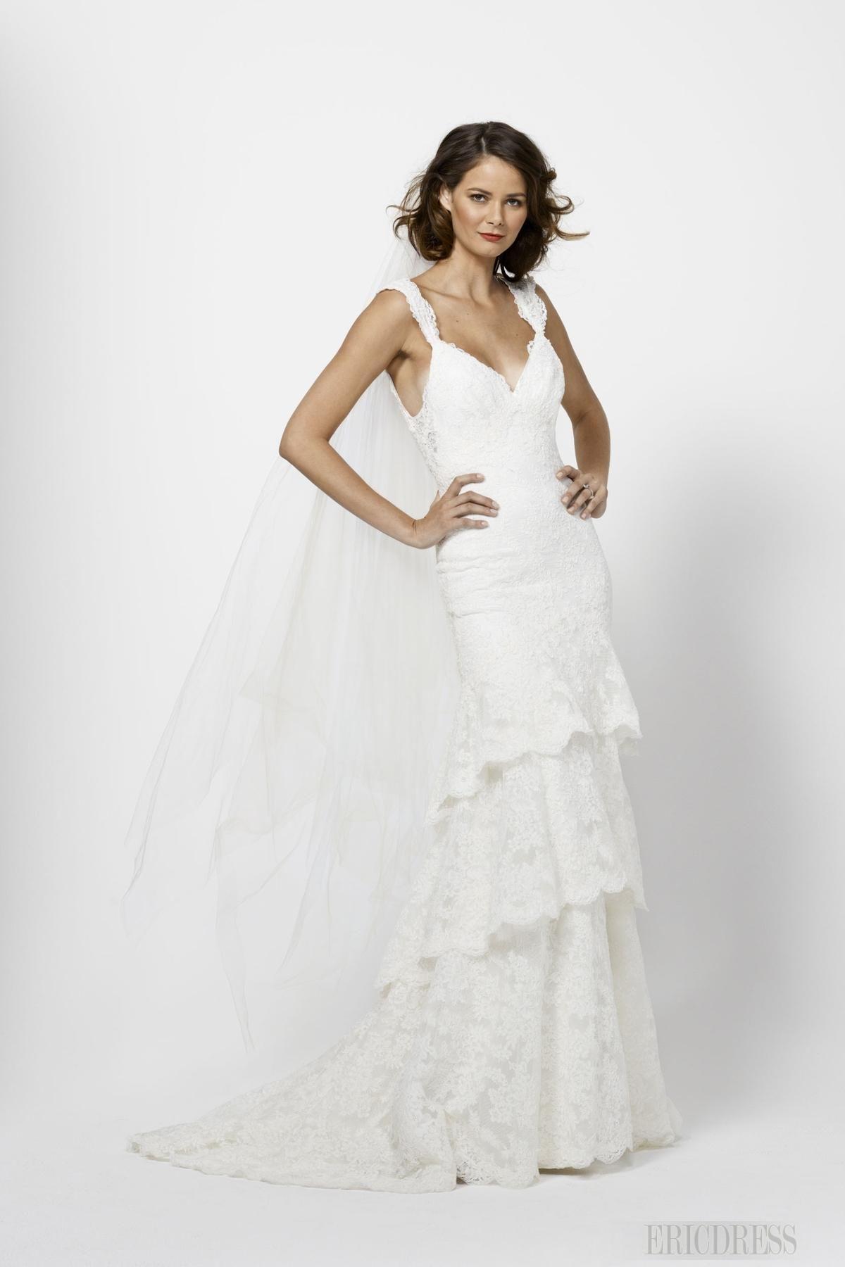 Wedding dress simple wearing white loving lots pinterest