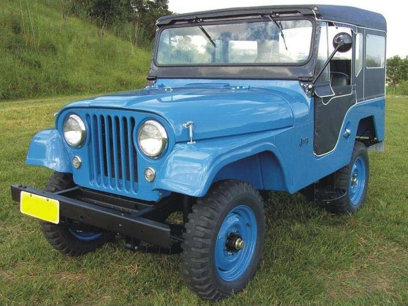1957 Jeep Willys Caminhoes Classicos Jipes Jeep Willys
