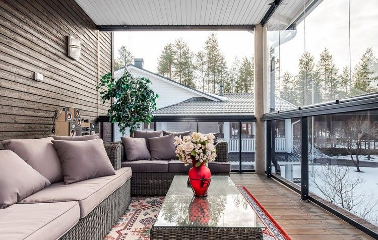 Fesselnd Windschutz Für Terrasse Und Balkon Wählen   20 Ideen Und Tipps