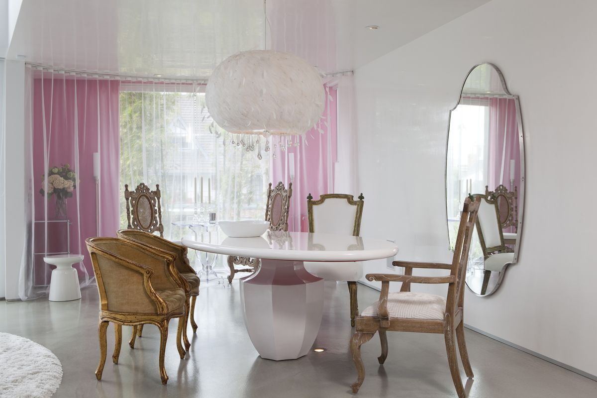 Tavolo Da Pranzo In Francese : Bnodesign residential hollywood glamour inspirations for my