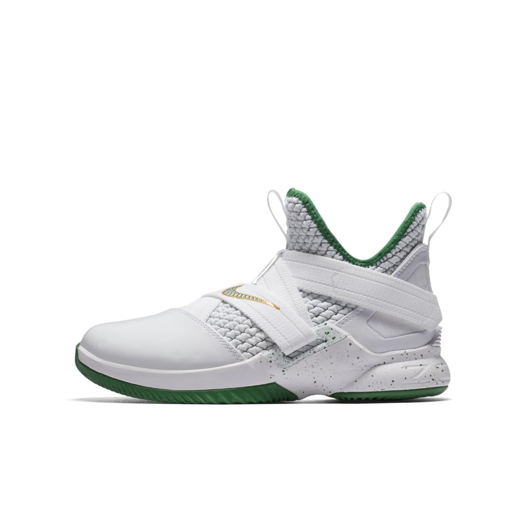 newest 645e5 05663 LeBron Soldier XII Big Kids' Basketball Shoe | Products ...