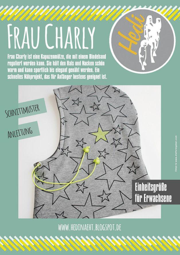Nähanleitg. Accessoires - e-book Balaclava femme Charly - une pièce de créateur de Hedinaeht sur DaWanda