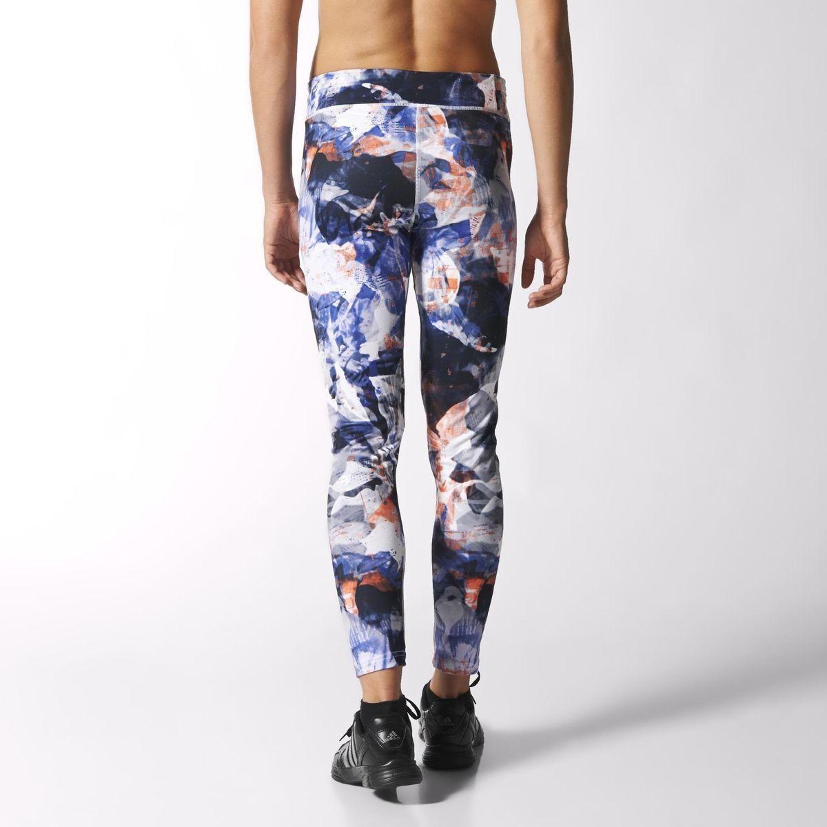 Adidas Womens Ultimate Fit Allover Print Tights - Multicolour/White -  Tennisnuts.com