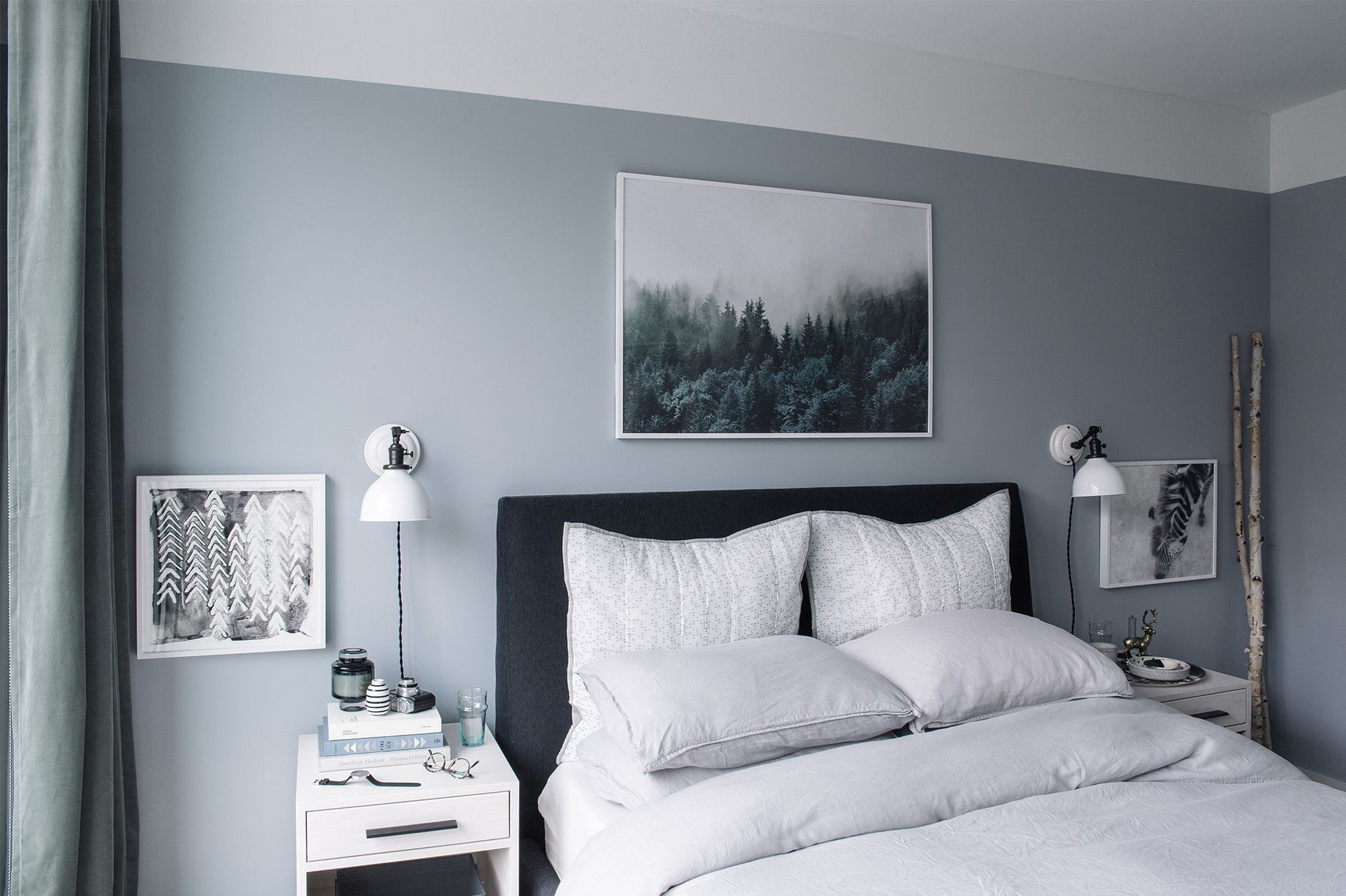 Bedroom Makeover: The Reveal - Bright Bazaar by Will Taylor  Grey