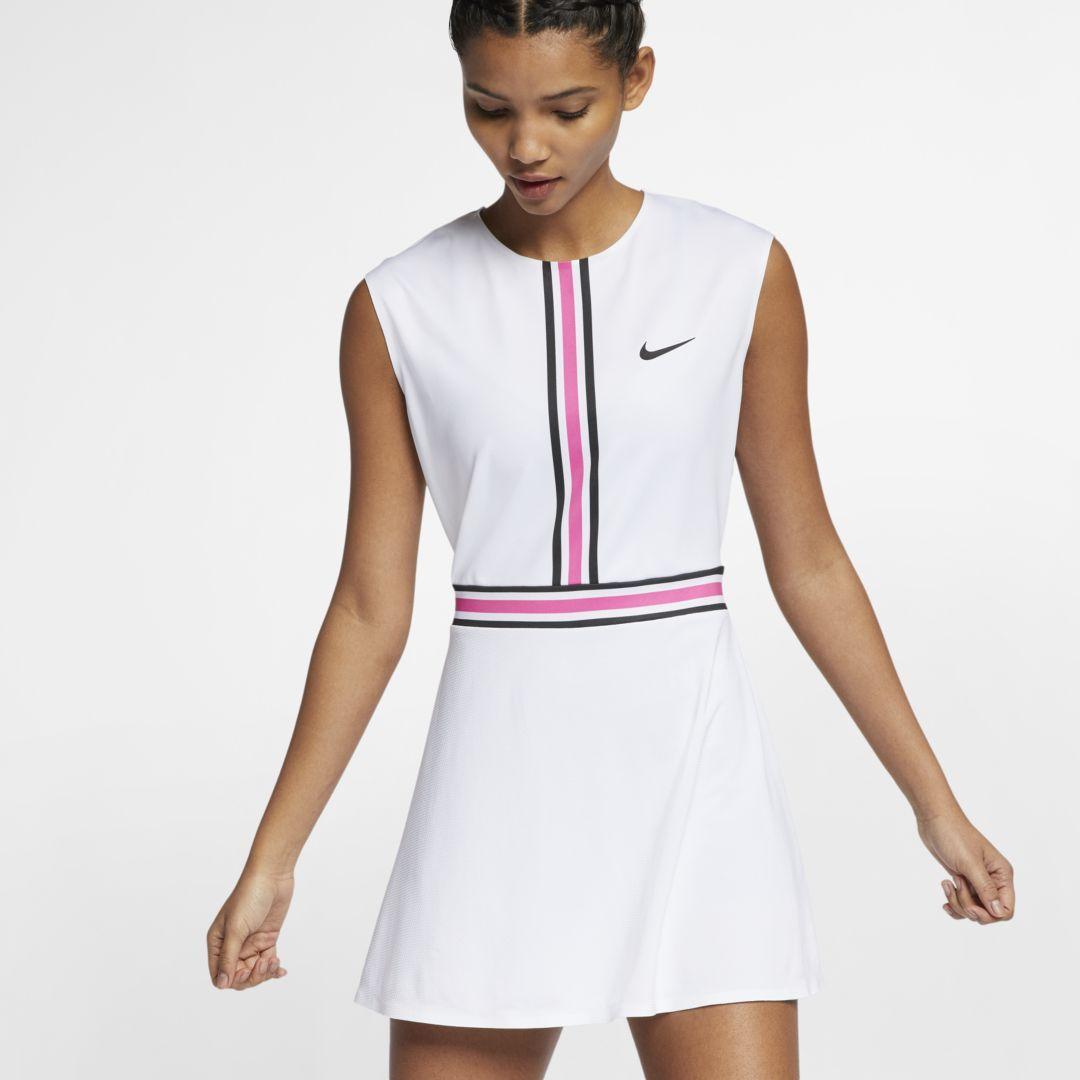 Nikecourt Women S Tennis Dress Size L White Womens Tennis Dress Tennis Dress Fashion [ 1080 x 1080 Pixel ]