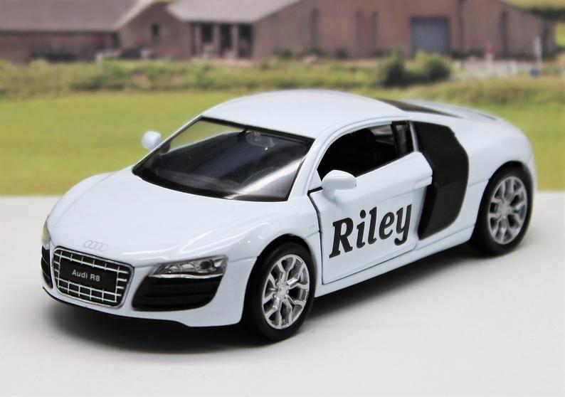 PERSONALISED NAME Lamborghini POLICE Boys Toy Car Model Birthday Present Gift