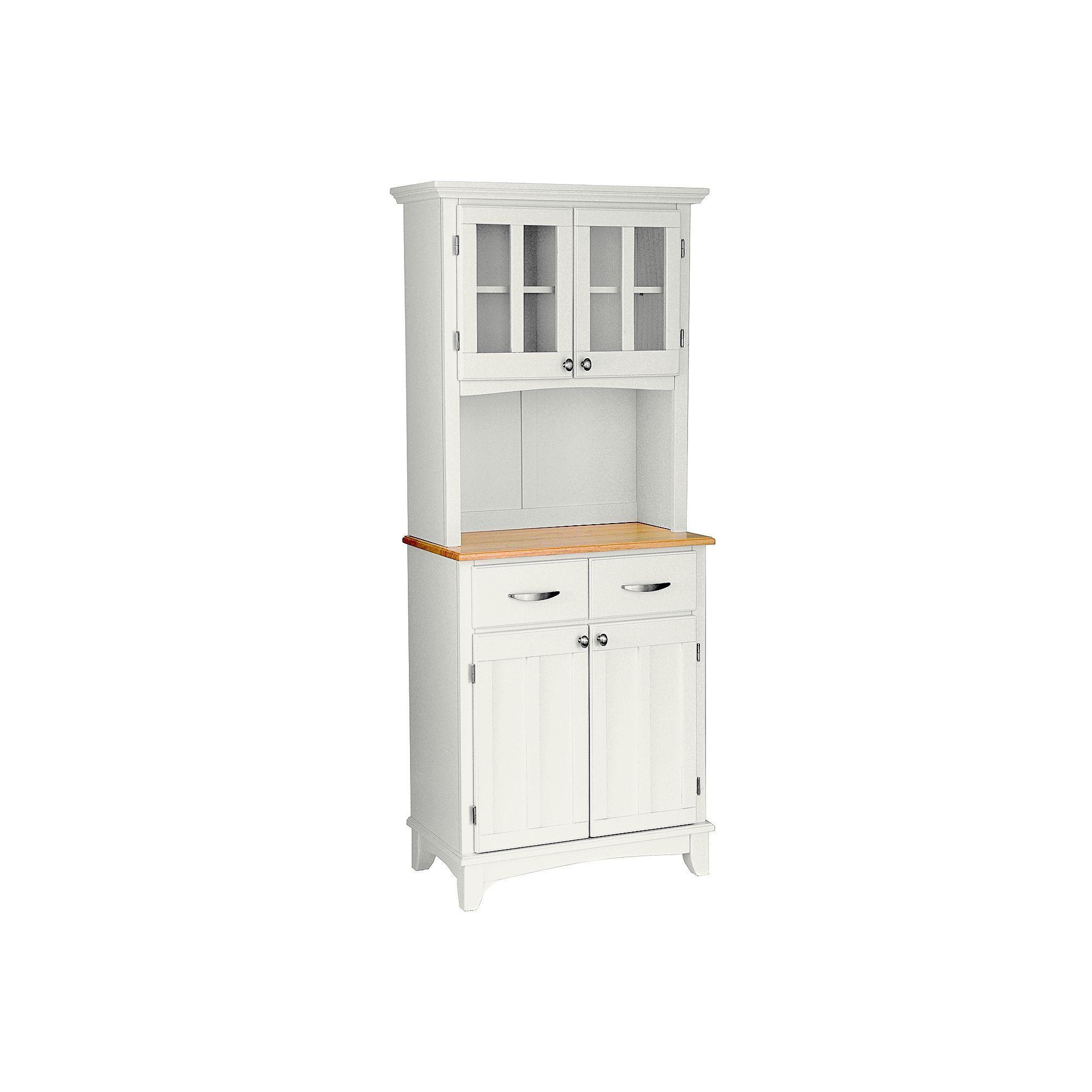 Download Wallpaper White Kitchen Small Hutch