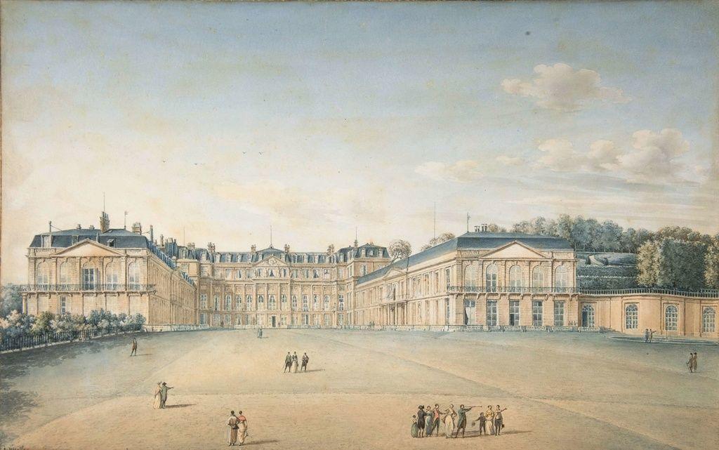 Le Château de Saint Cloud, architecture et décor - Page 10   Dessin  architecture, Domaine de saint cloud, Château