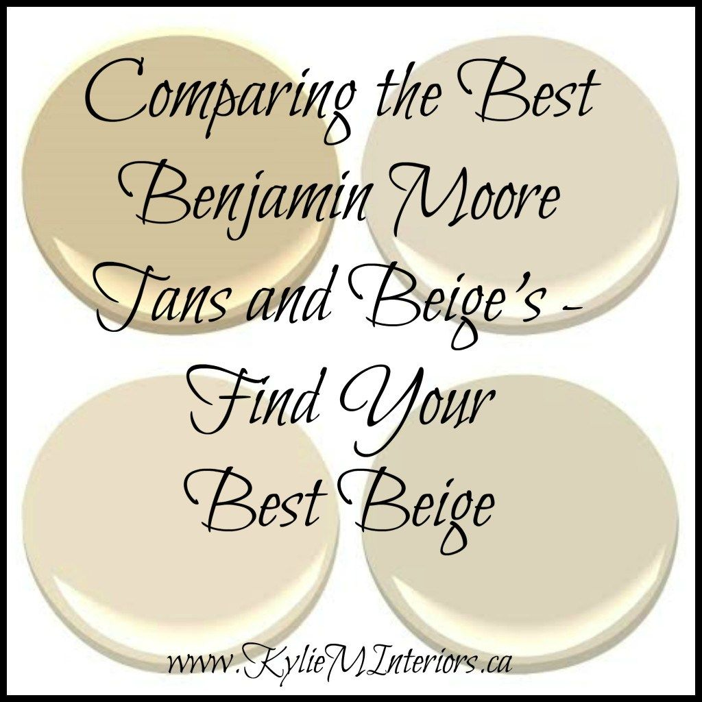Comparing the best benjamin moore neutral tan paint colours u the